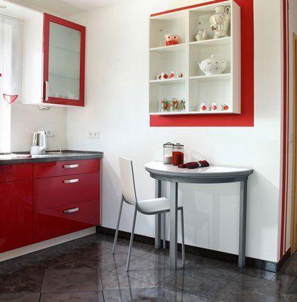 Cocinas mesa de cocina ovalada peque a mesas y sillas for Mesas y sillas para cocinas pequenas