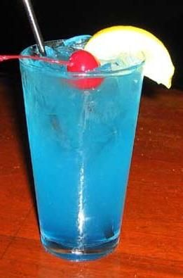 Pin By Patrice Saldias On 21 Drinks Blue Drinks Electric Lemonade