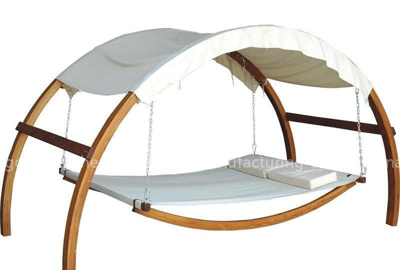 wooden swing bed,hammocks bed>>Qingdao Haicheng Furniture Manufacturing  Co.,Ltd
