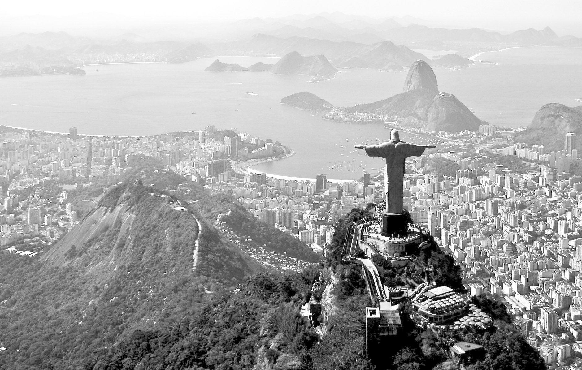 Black And White Photography Rio De Janeiro