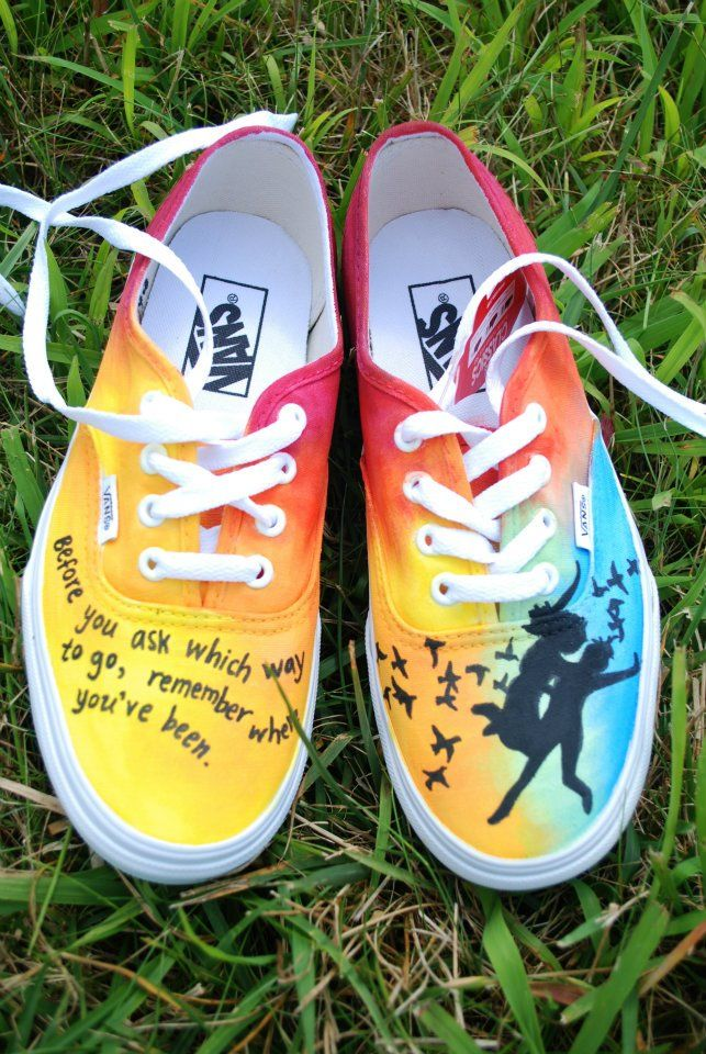 BEST HAND PAINTED SHOES