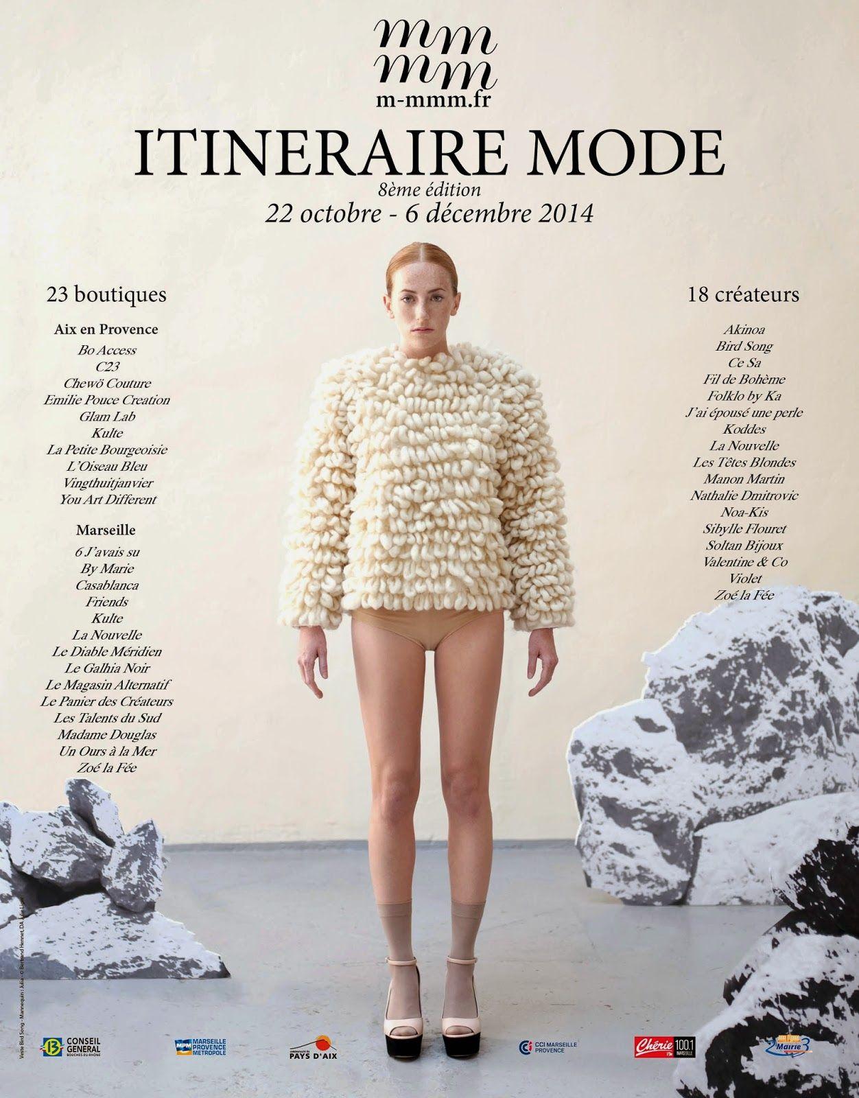 visuel Itinéraire Mode 2014