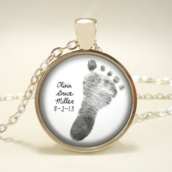 Three For 59 25 Your Baby S Footprint Personalized