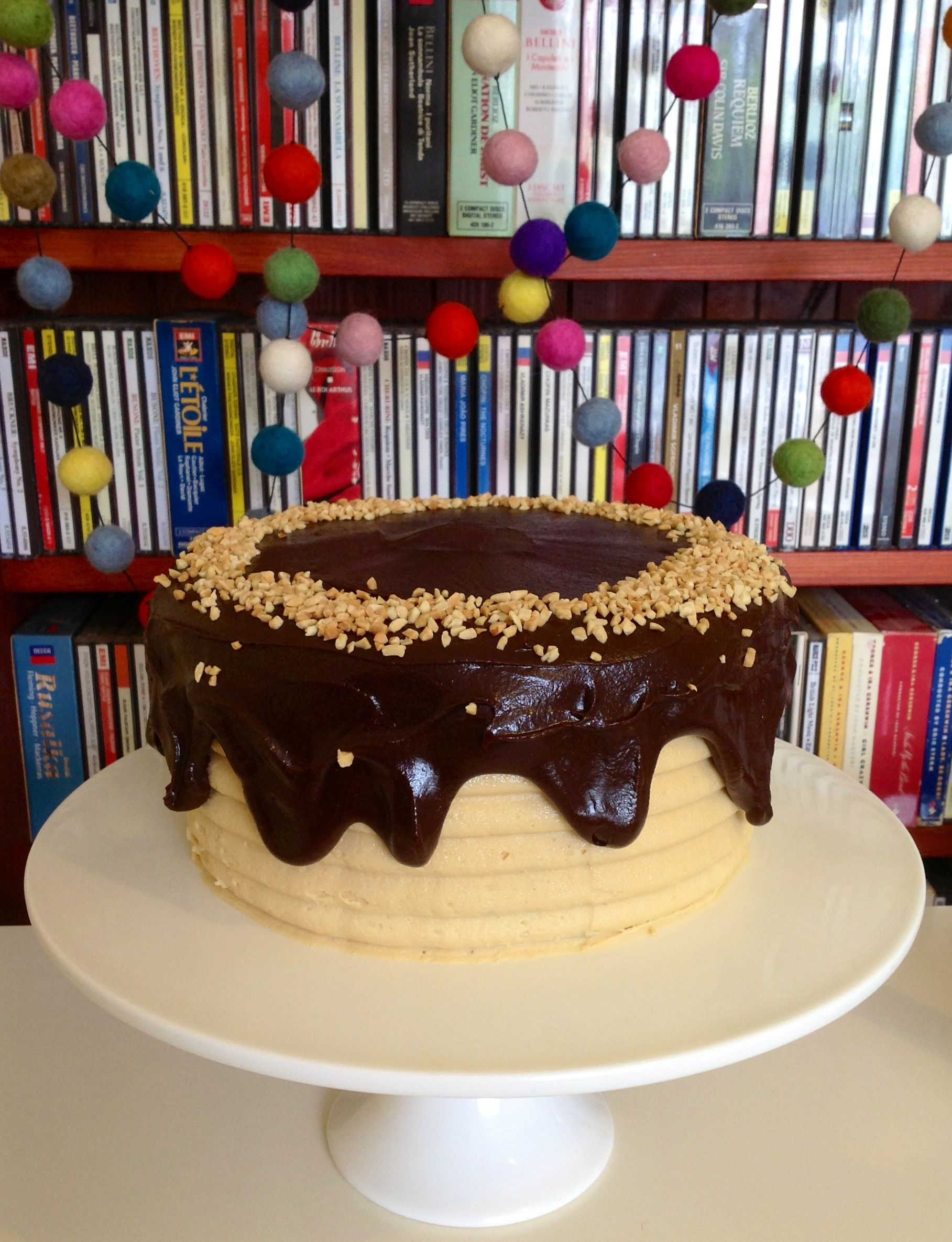Chocolate peanut butter cake by ashleigh recipe by