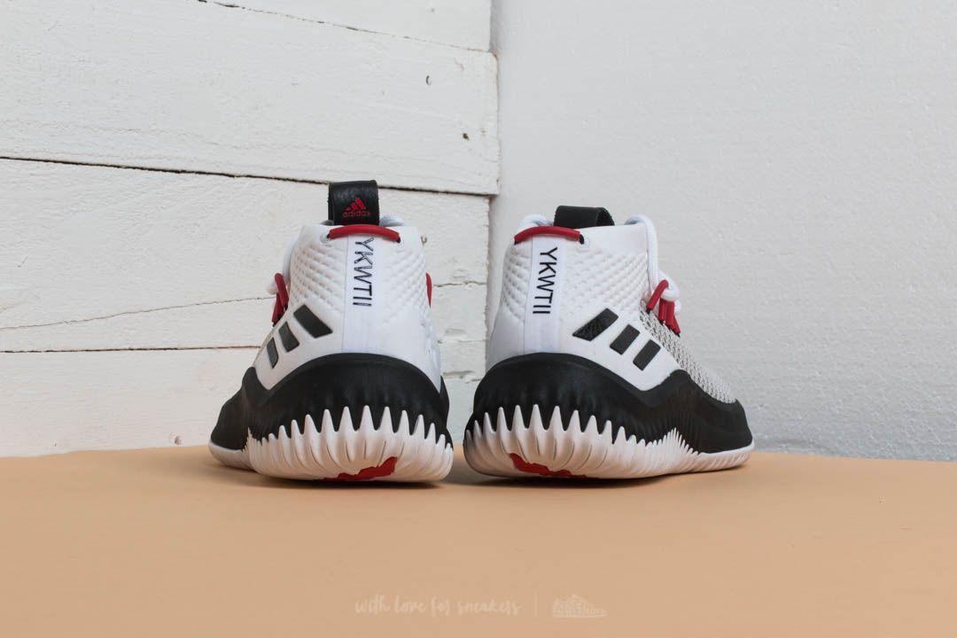 designer fashion 2b75b 95cd5 adidas Dame 4 Ftw White Core Black Scarlet at a great price 123 €
