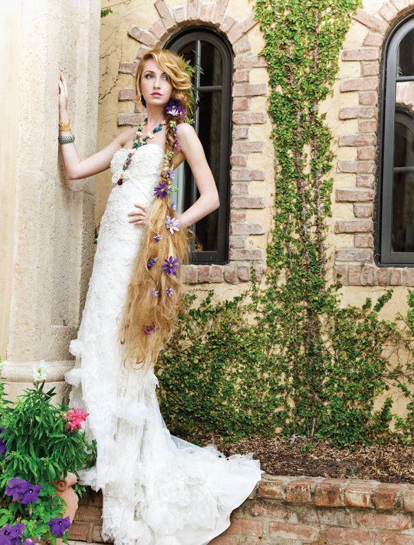 Rapunzel, from the Orlando Wedding Magazine fairytale photo ...