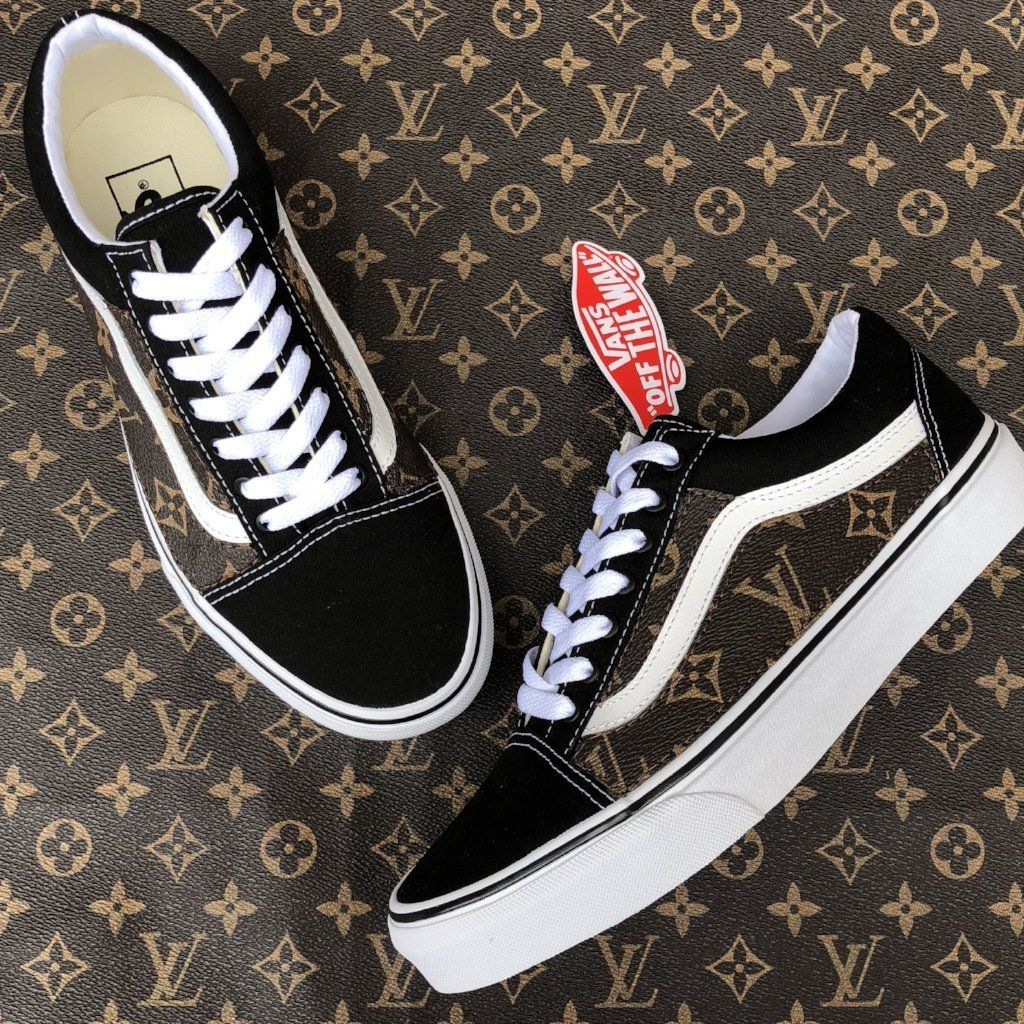Custom Louis Vuitton Vans Old Skool Vans Old Skool 75d2ac25e