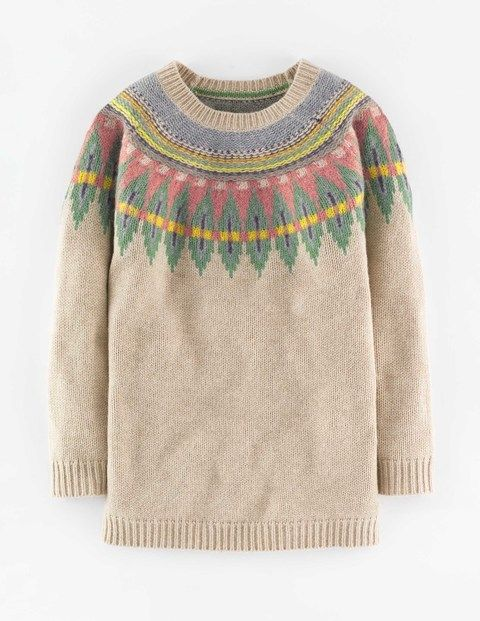 Fair Isle Sweater WV059 Sweaters at Boden | Clothing | Pinterest ...