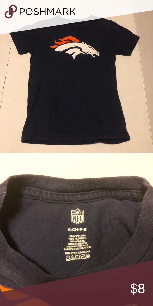 5854ed40 Denver Broncos Boys Small t-shirt Denver Broncos Boys Small t-shirt ...