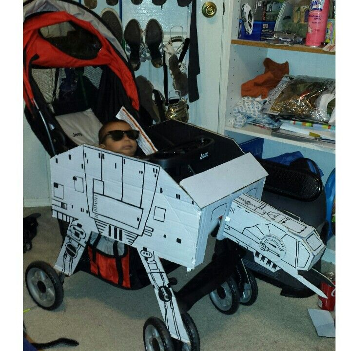 star wars at at stroller starwars baby in 2018 stroller costume
