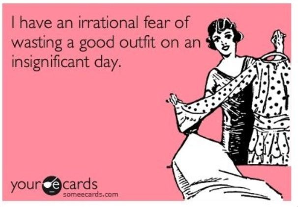 This isn't an irrational fear... This is my life!!