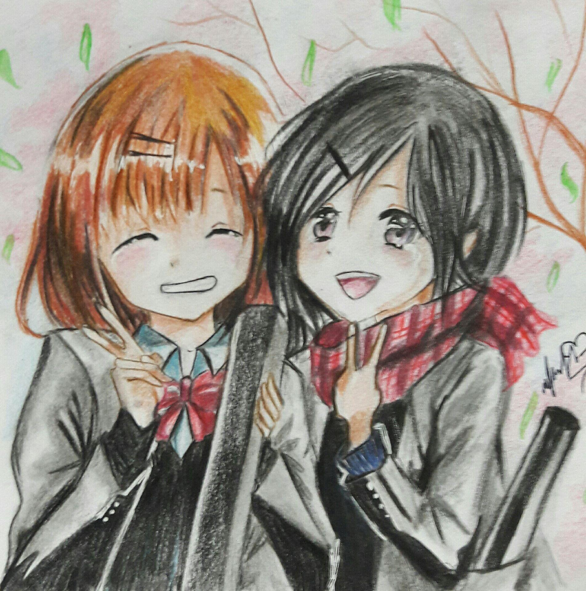 مرحبا هنا سأشارك بمسابقة رسم جديدة ارجو ان تدعموني عشوائي عشوائي Amreading Books Wattpad Art Anime