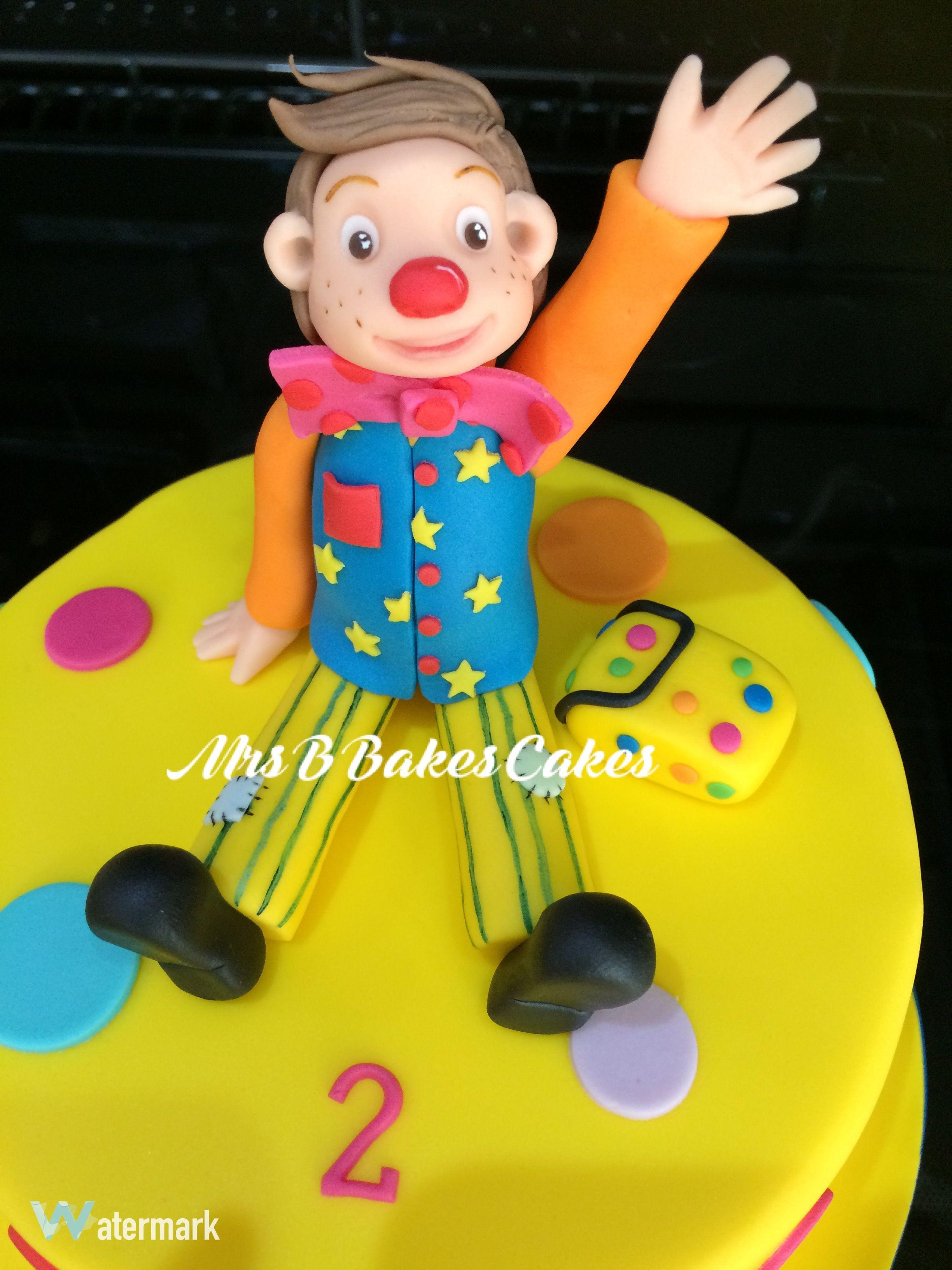 Pin By Aimee Pirouet On Baby Cake Ideas Cake Clown Cake