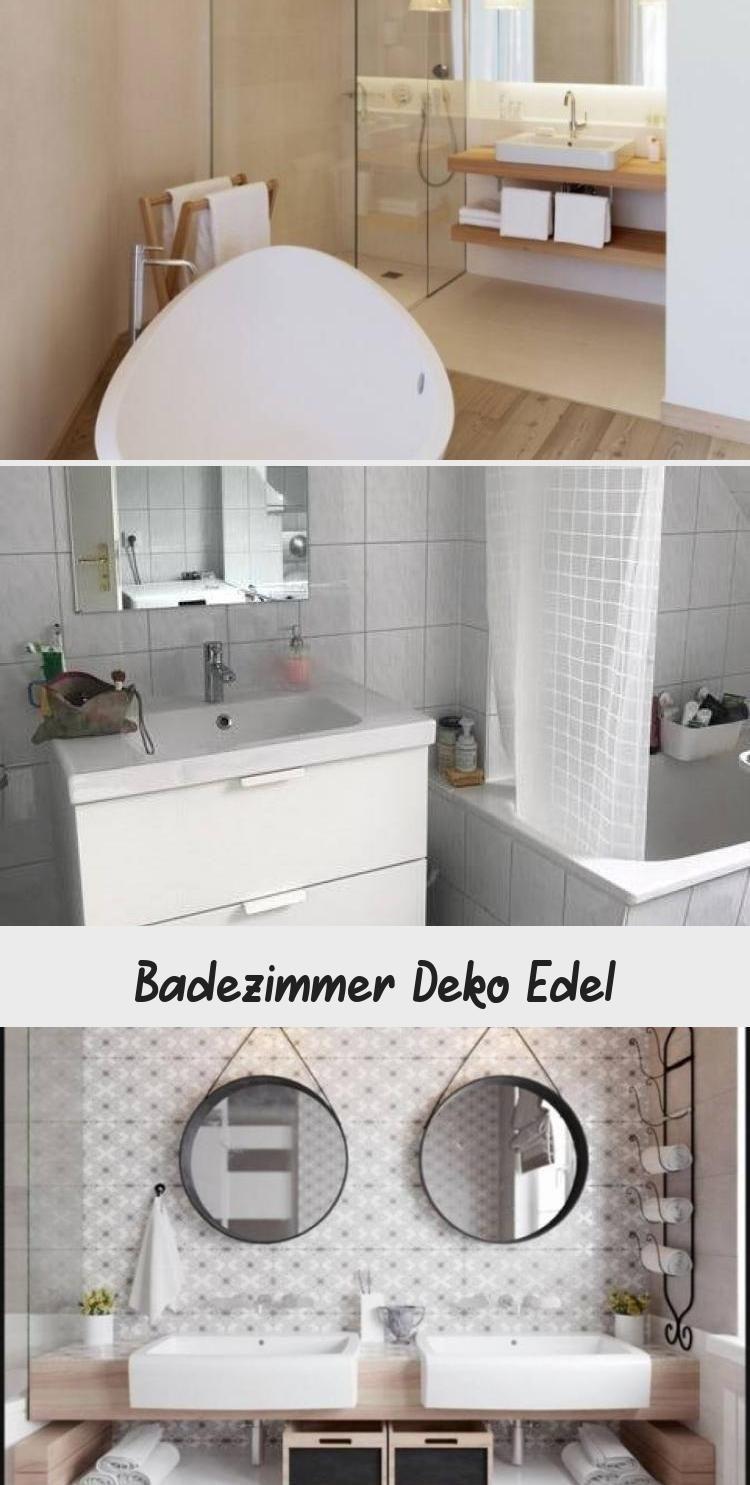 Badezimmer Deko Edel In 2020 Round Mirror Bathroom Bathroom