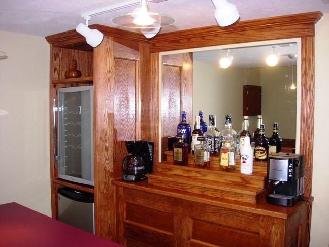 Custom built home bar medina 3 | Den | Pinterest | Bar and Wet bars