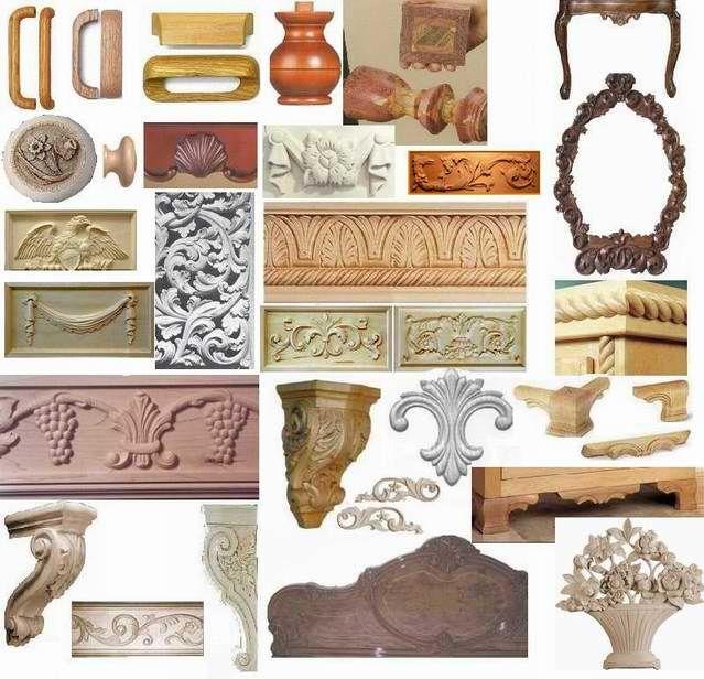 Executam ornamente si sculpturi in lemn pentru mobila sau decoratiuni