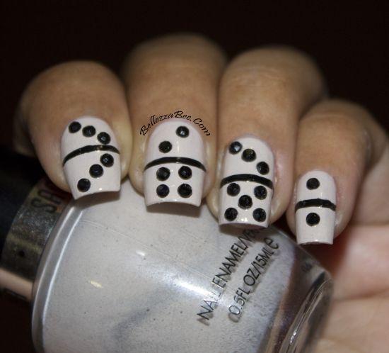 Domino Nail Art