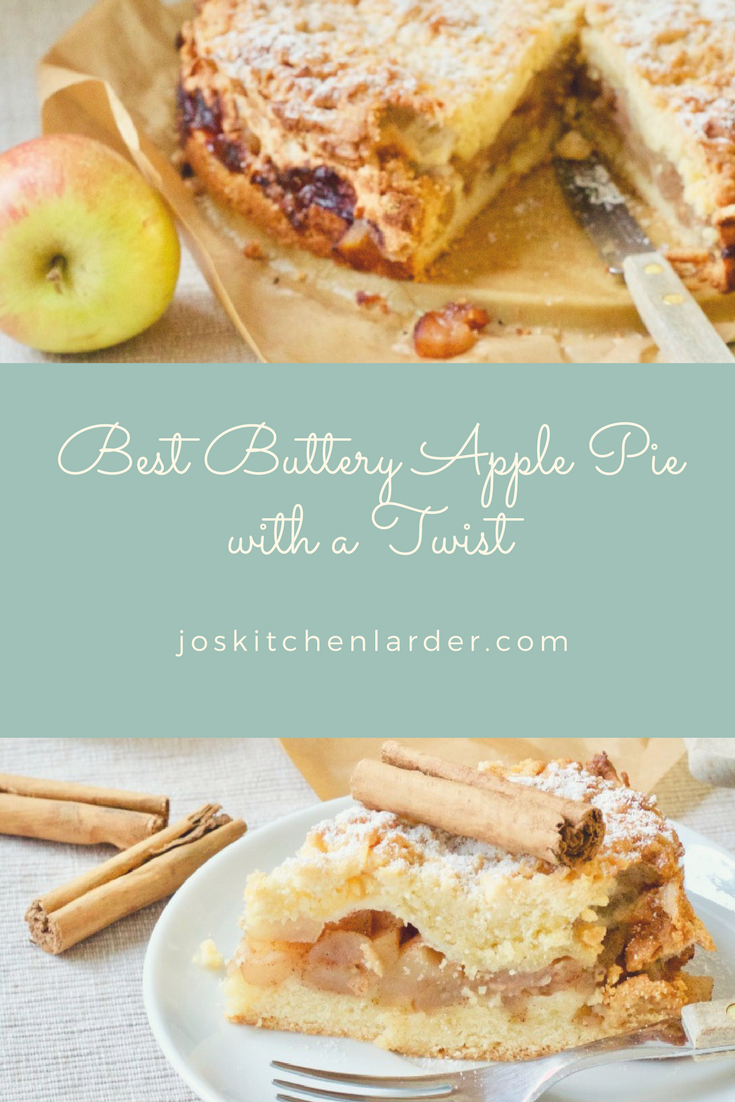 Best Buttery Apple Pie with a Twist | Recipe | Amazing Desserts ...