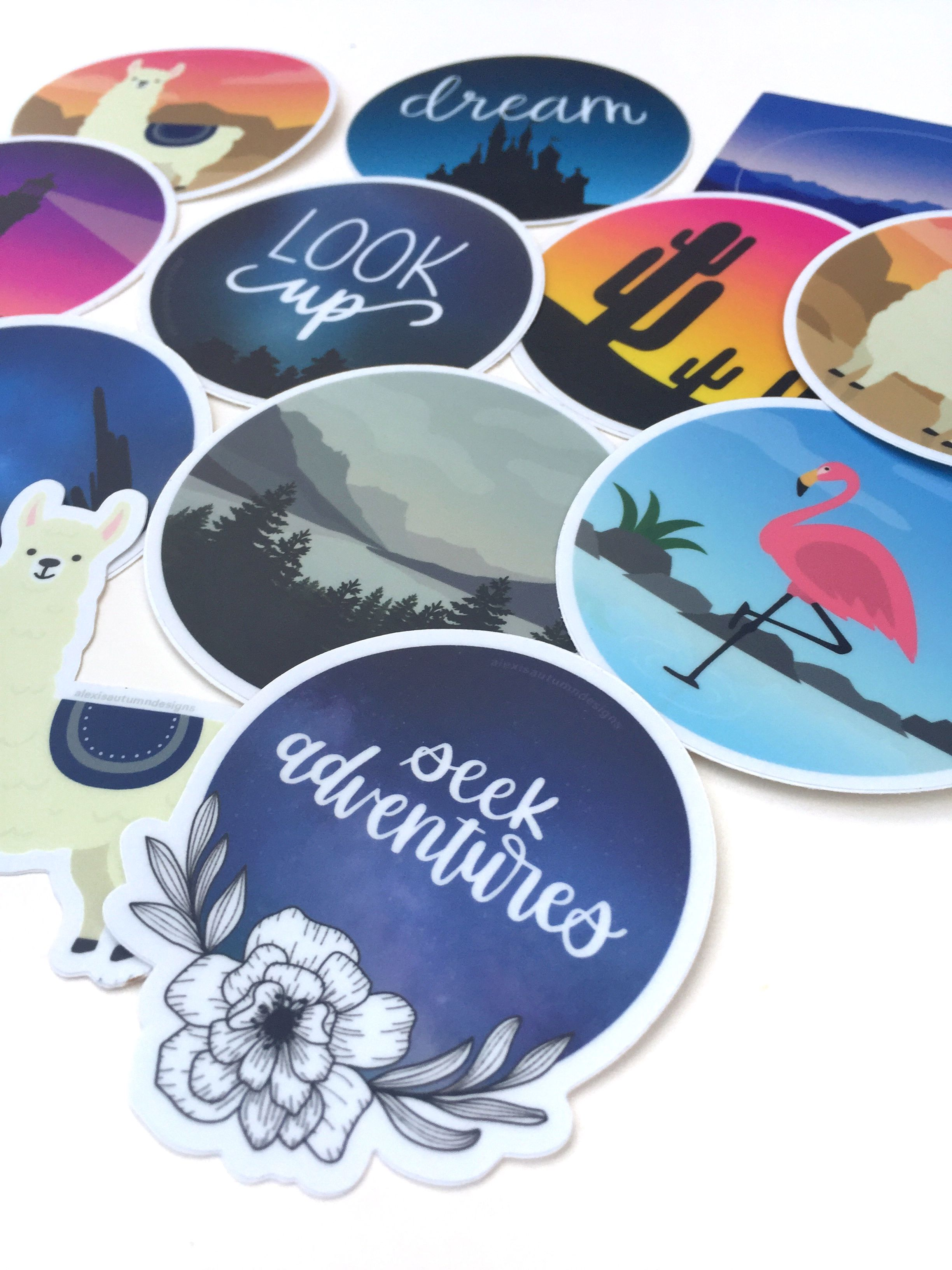 Highquality waterproof stickers print stickers preppy