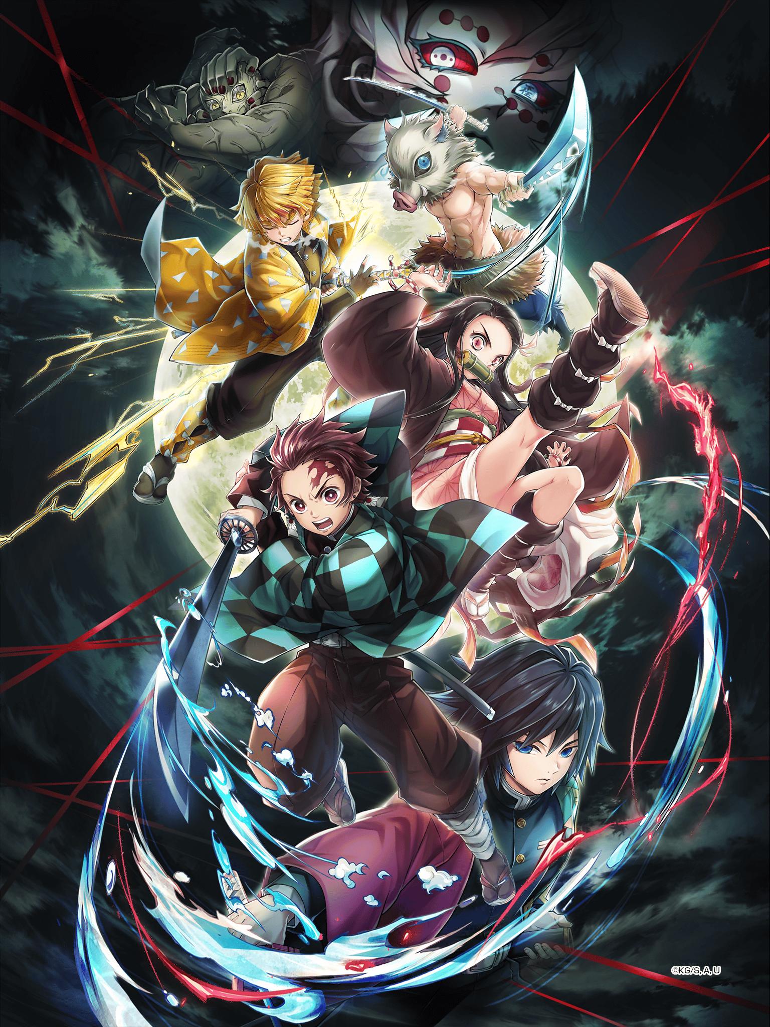 Shironeko Project Kimetsu No Yaiba Collaboration Wallpaper Hd Hq Darkneel Buster Personagens De Anime Desenho De Anime Animes Wallpapers
