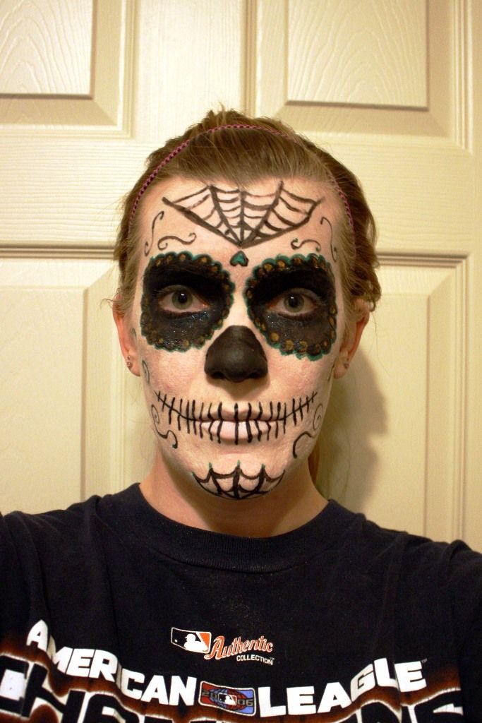 30 Halloween Makeup Ideas for Men | Candy skull makeup, Makeup man ...