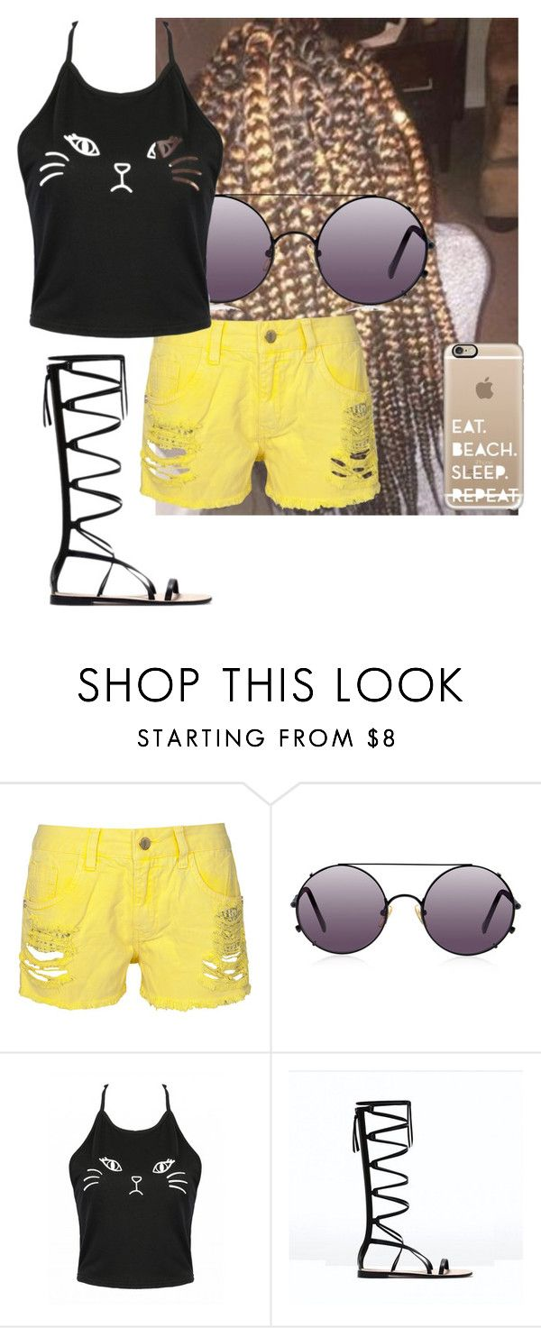 """""""Poly Famuly?"""" by littkitt ❤ liked on Polyvore featuring Sunday Somewhere and Casetify"""