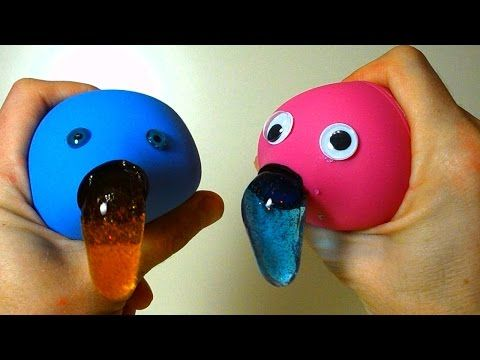Slushy Squishy Stretchy Ball Diy Orbeez Crush Stress Ball
