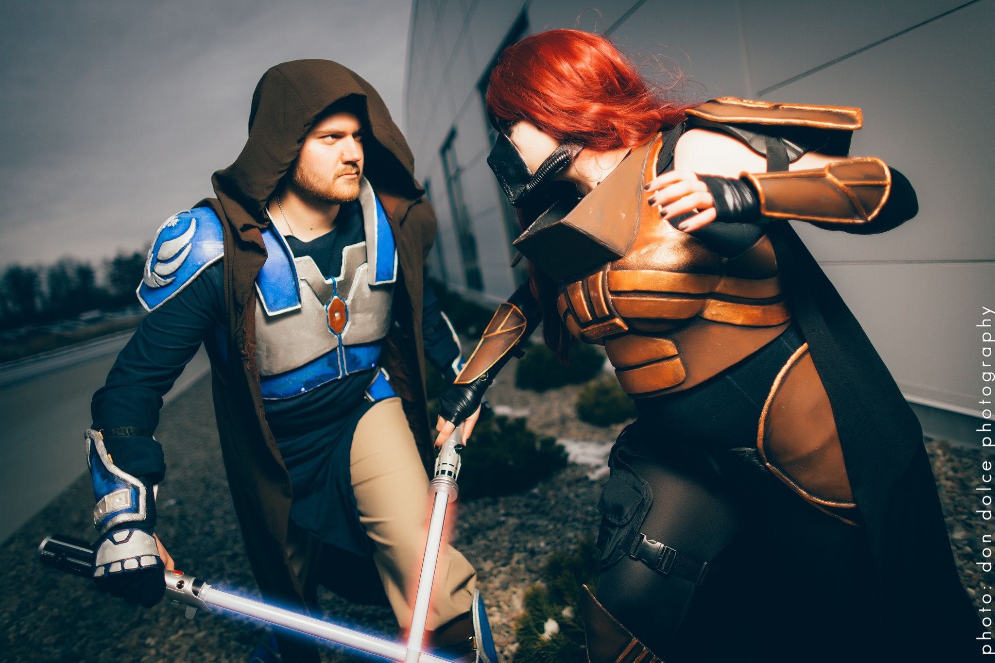 Characters SWTOR Sith And Jedi Cosplayer A Okay Cosplay Location Ottawa Pop Expo 2014 Photographer Don Dolce Photography Starwars