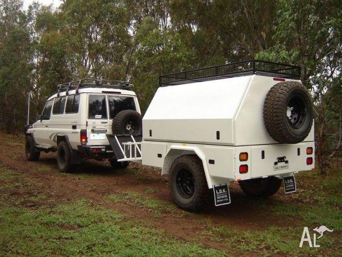 Heavy Duty Off Road Camper Trailer / Kitchen | Camper ...