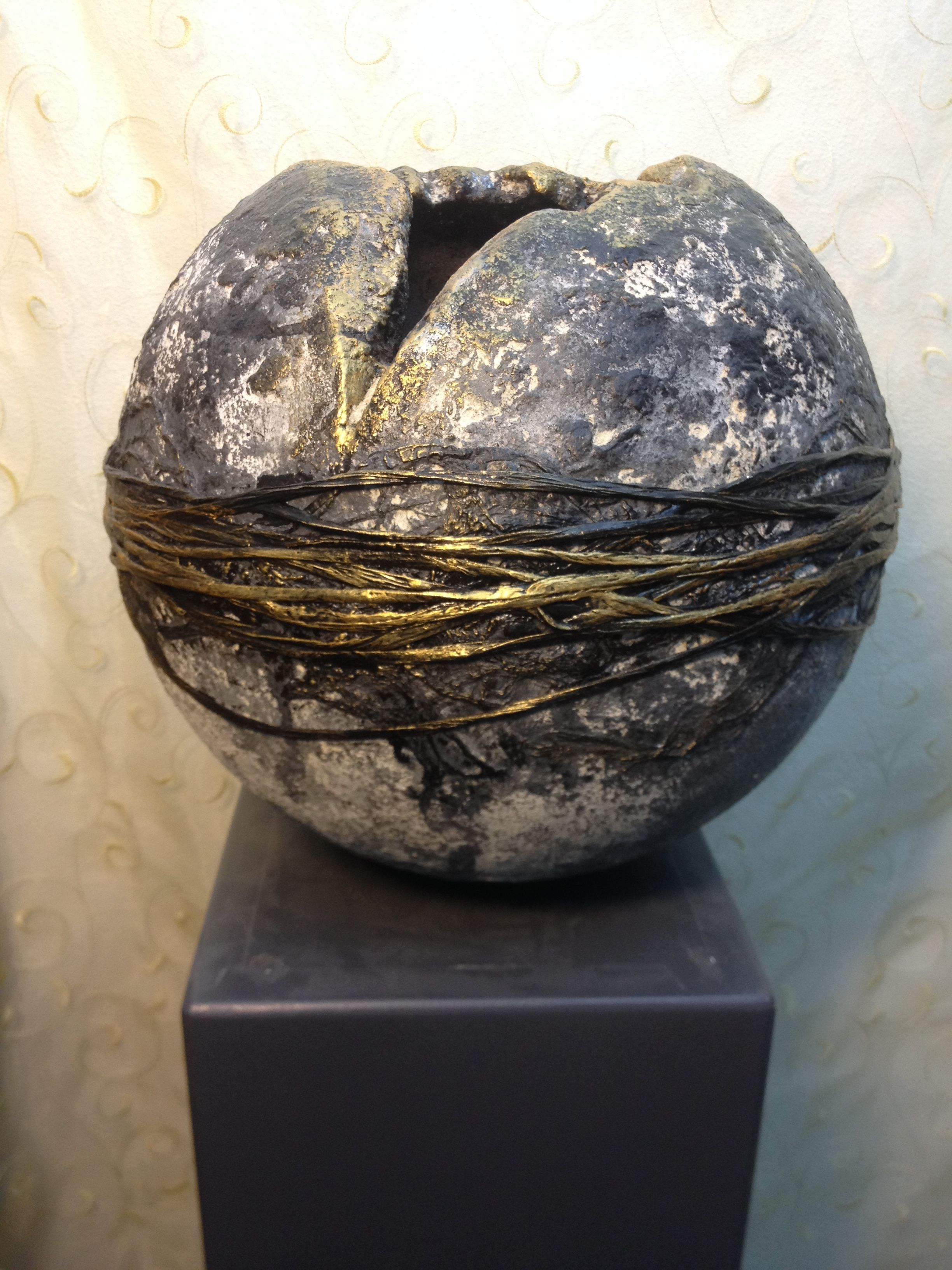 powertex globe by joyce edunjobi from phoenix living arts www