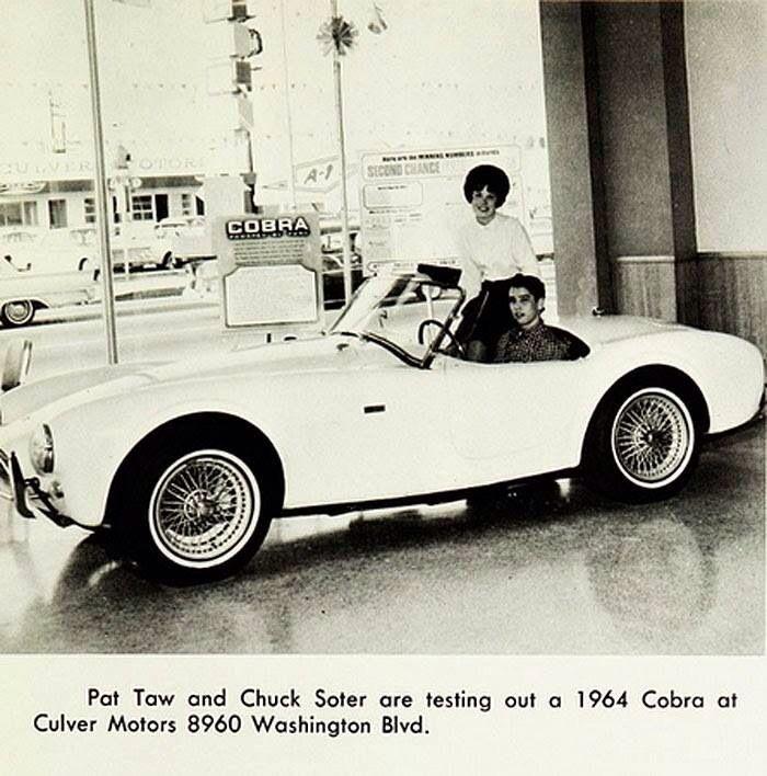 Vintage Promo Postcard Cobra Dealer Culver Motors | : faster ...