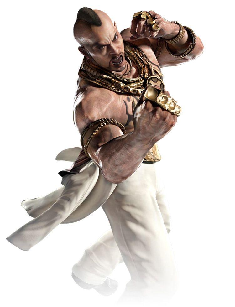 Bruce Alternate Costume From Tekken Mobile Mobile Art Concept Art Characters Game Character Design