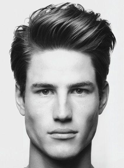 Peinados Hombre Pelo Liso Con Tupe Peinados En 2018 Pinterest - Peinados-hombre-pelo-liso