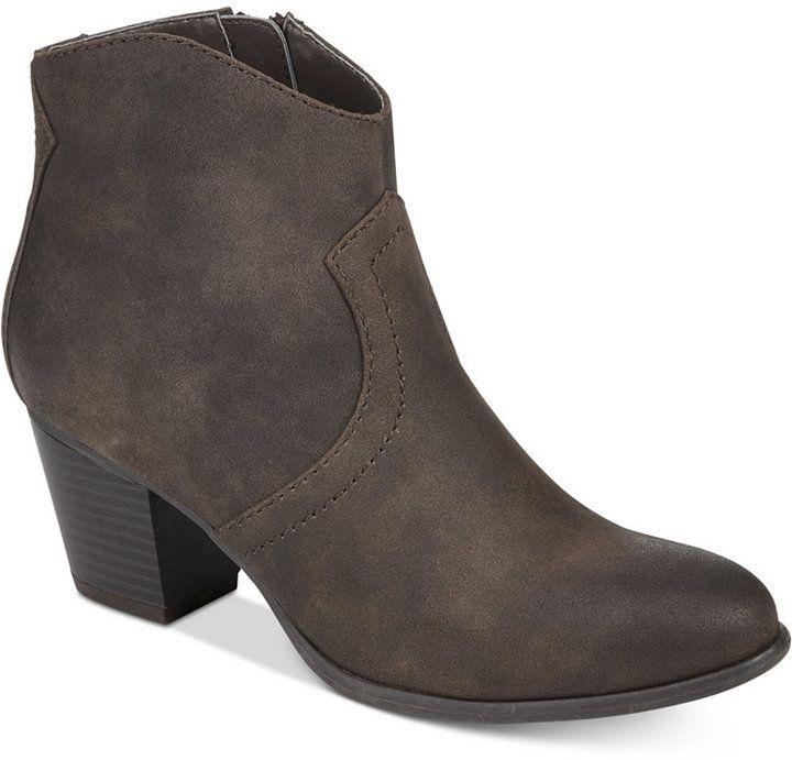 81a954397 American Rag Rylie Western Ankle Booties