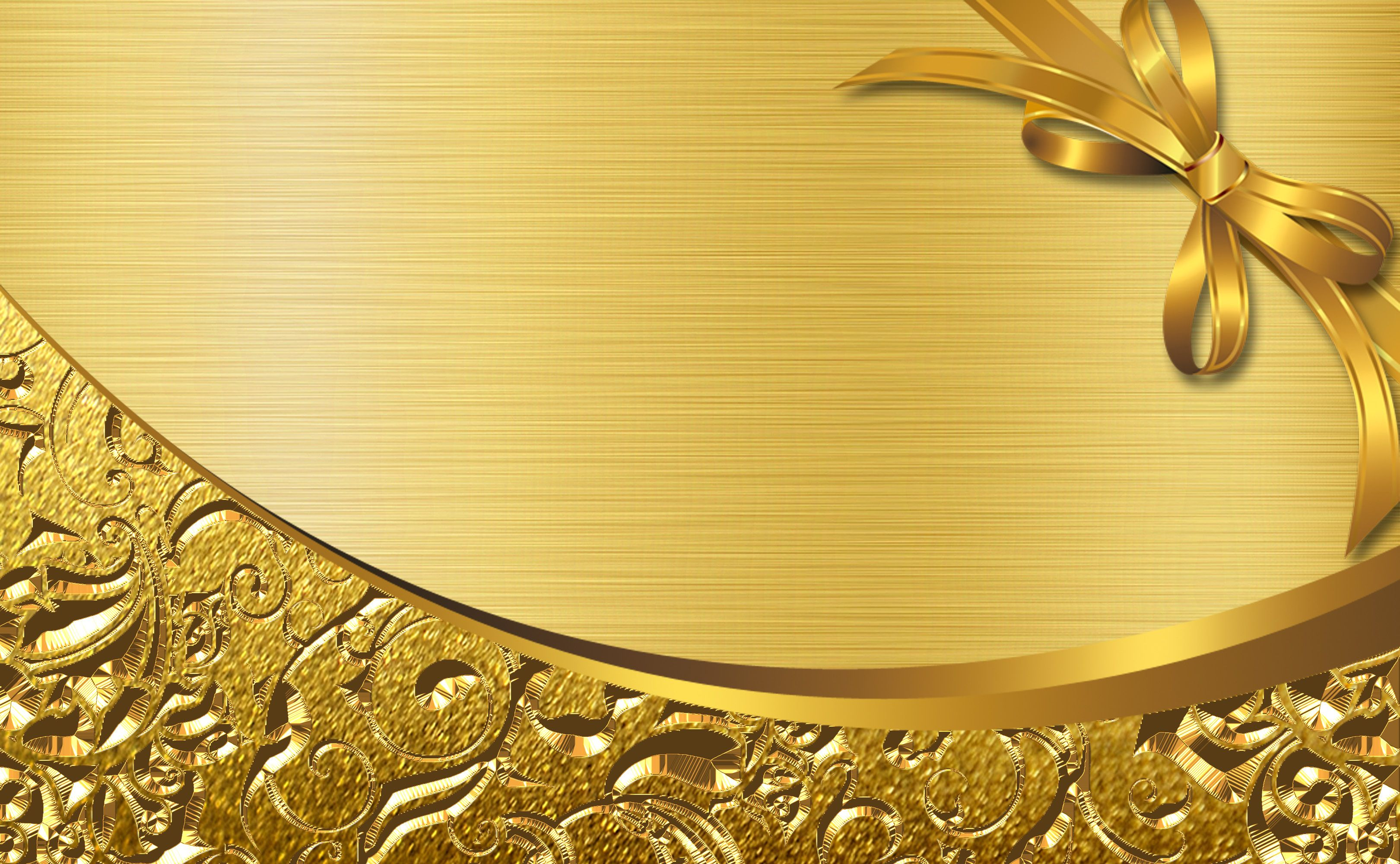 Gold Business Card High End Cards Poster Background Material With