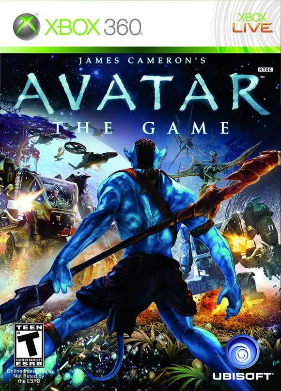 xbox 360 games Avatar, Avatar video, James cameron