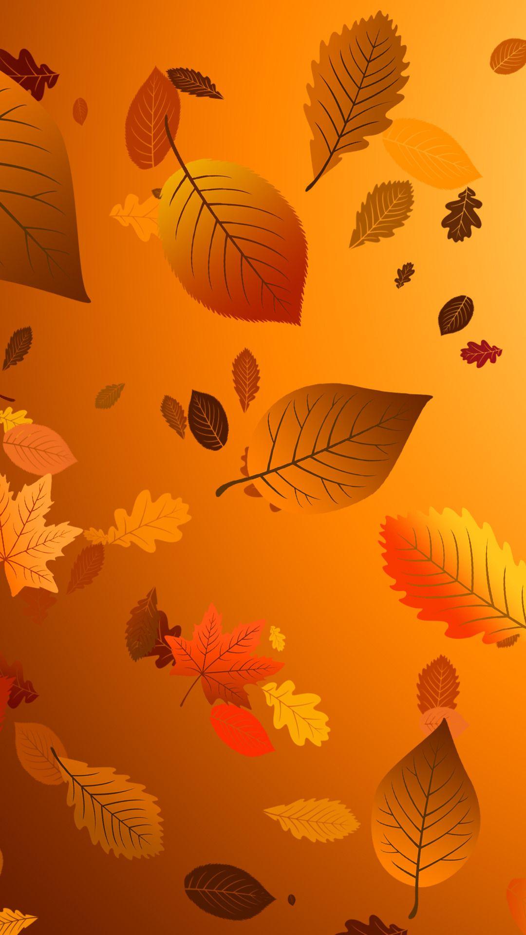 Autumn Cellphone Wallpaper Emoji Wallpaper Fall Wallpaper