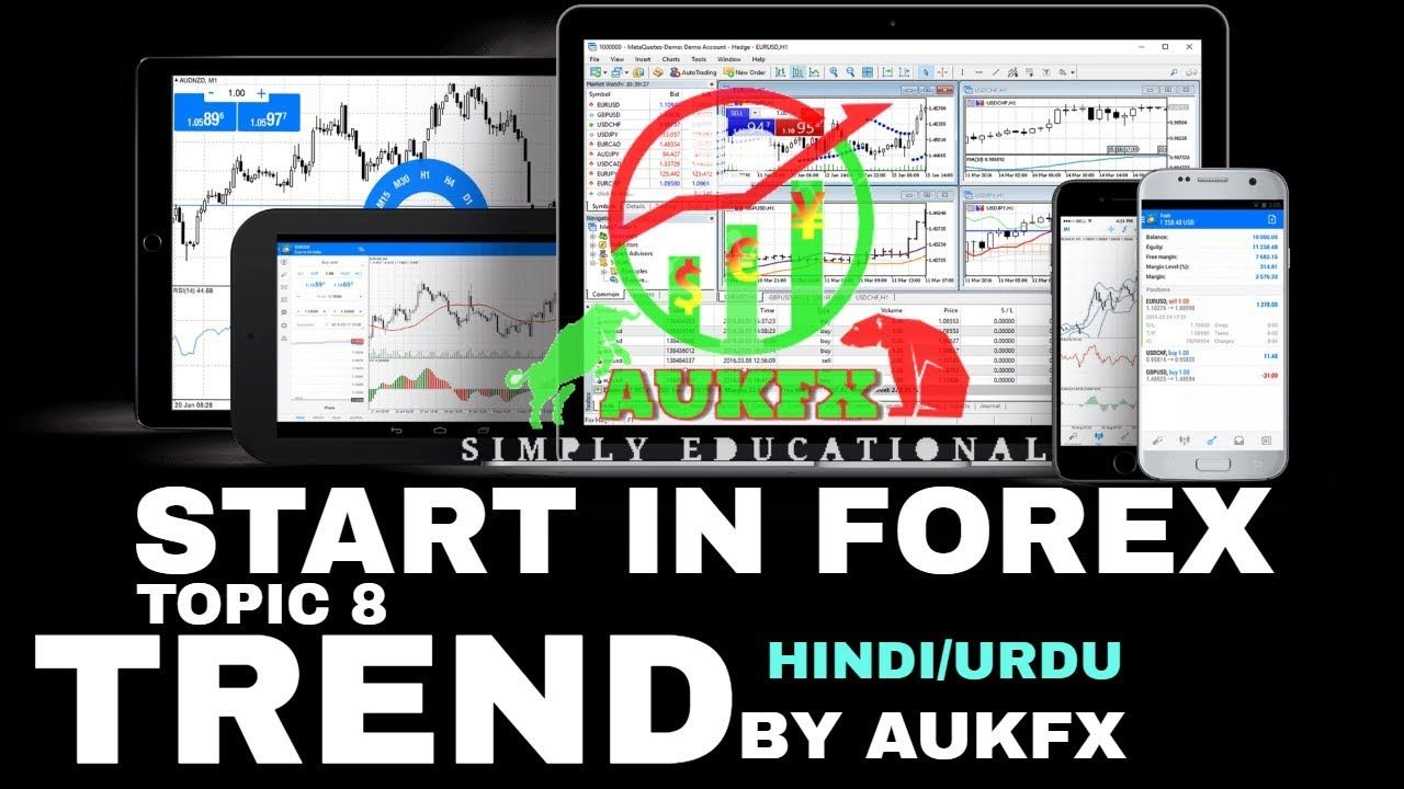 Start In Forex Course Topic 8 Trend Crash Course Urdu