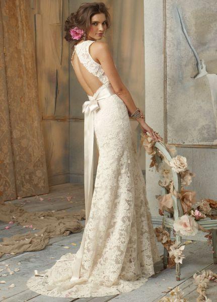vestido de novia estilo vintage jim hjelm. | here comes the