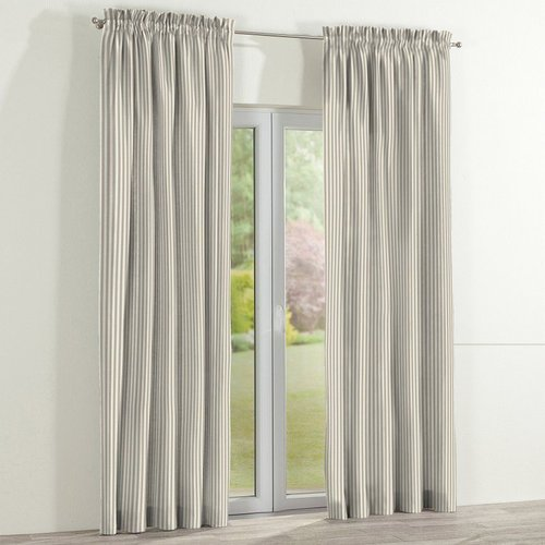 Dekoria Picture Slot Top Semi Sheer Single Curtain Curtains Curtain Length Buy Curtains Online