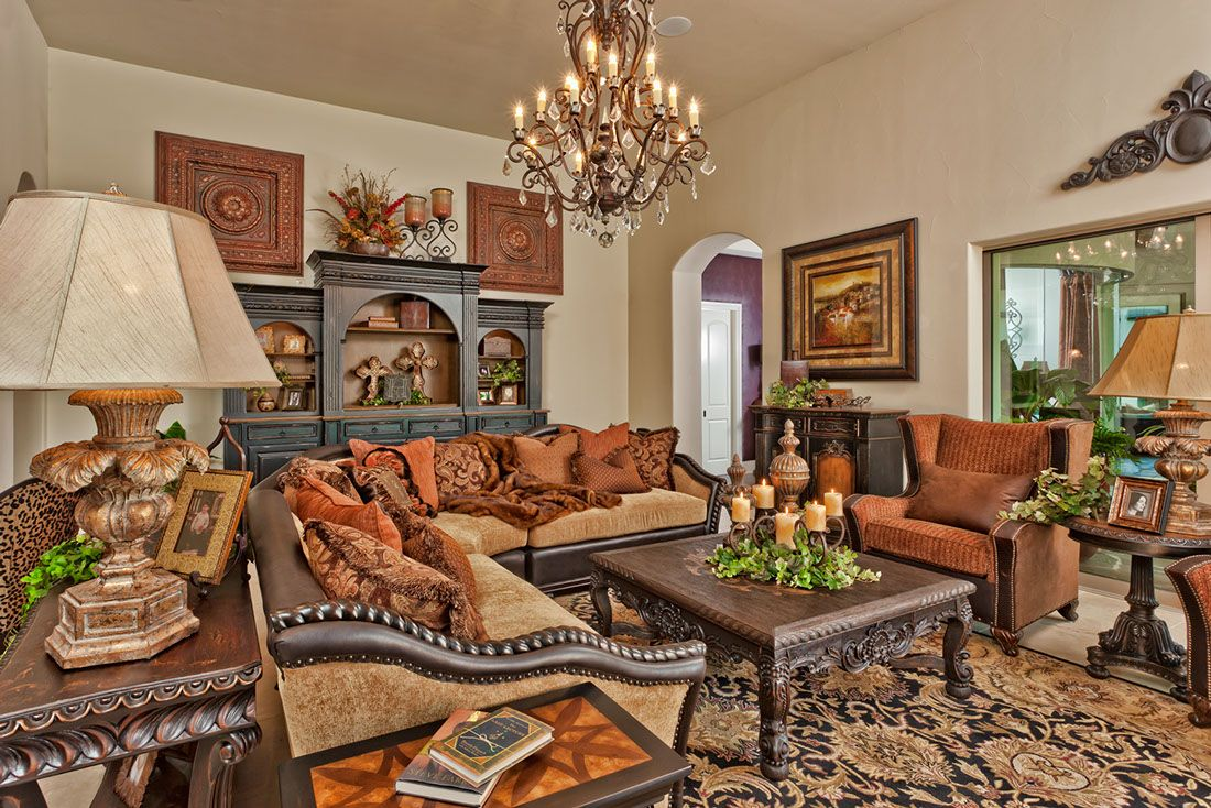 Living Room Sectional Sofa Set And