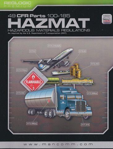 Mancomm 49 CFR: Transportation, Parts 100-185 (US Hazmat