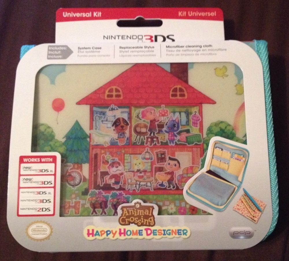 Nintendo 3DS Carry Case Animal Crossing Happy Home Designer ... on shed homes, mini homes, 12 cubed homes, sims homes, nice comfortable homes, little homes, container homes, small homes, prefab homes, off the grid homes, off grid mobile homes, nomad homes, compact homes, strange homes, mega homes, most unusual homes, caboose homes, cube homes, tiny homes, portable homes,