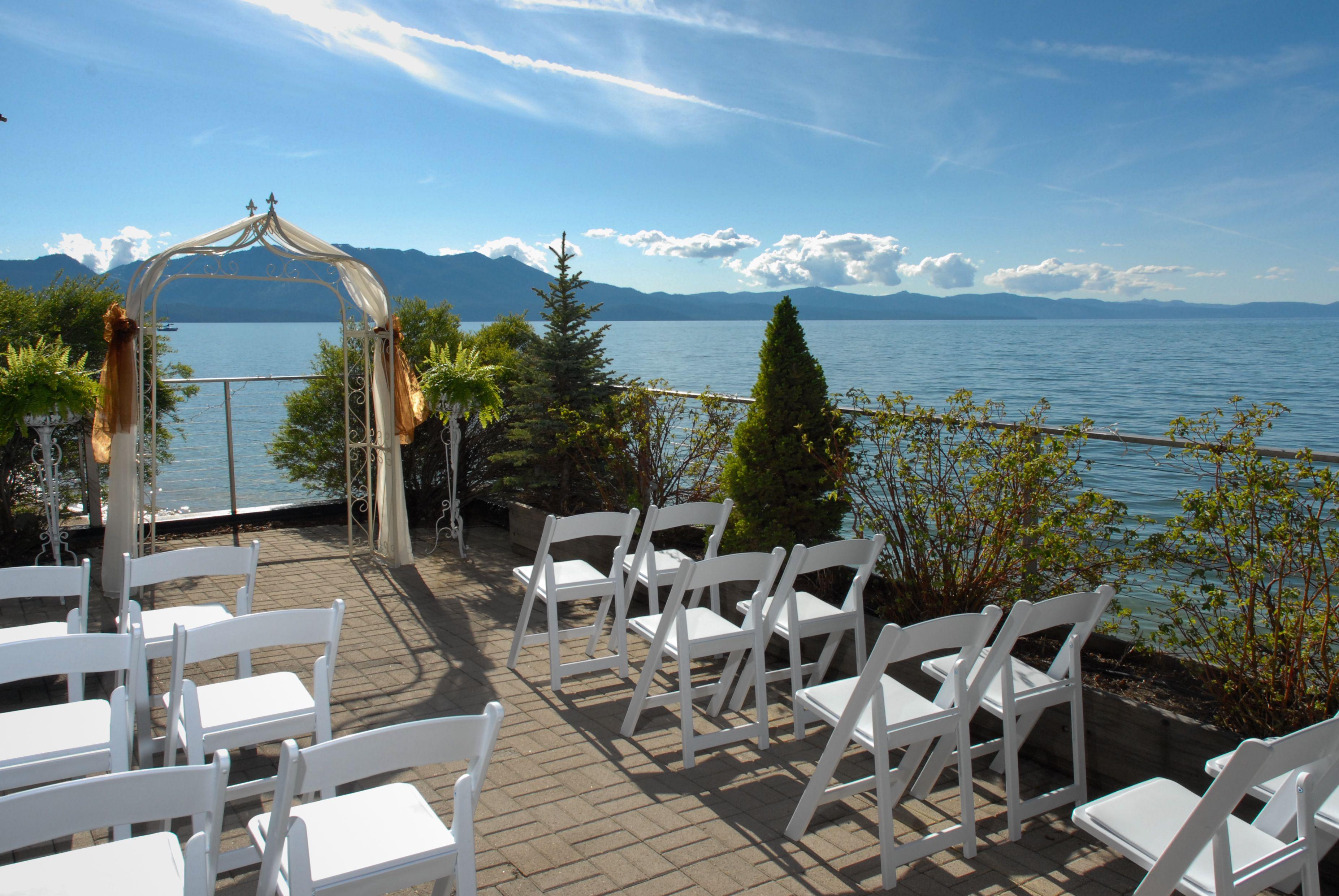 Tahoe Weddings Lake Lakefront Chapel Wedding Venues