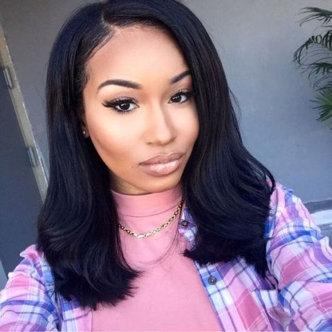 Image result for medium length sew in | Sew in straight ...