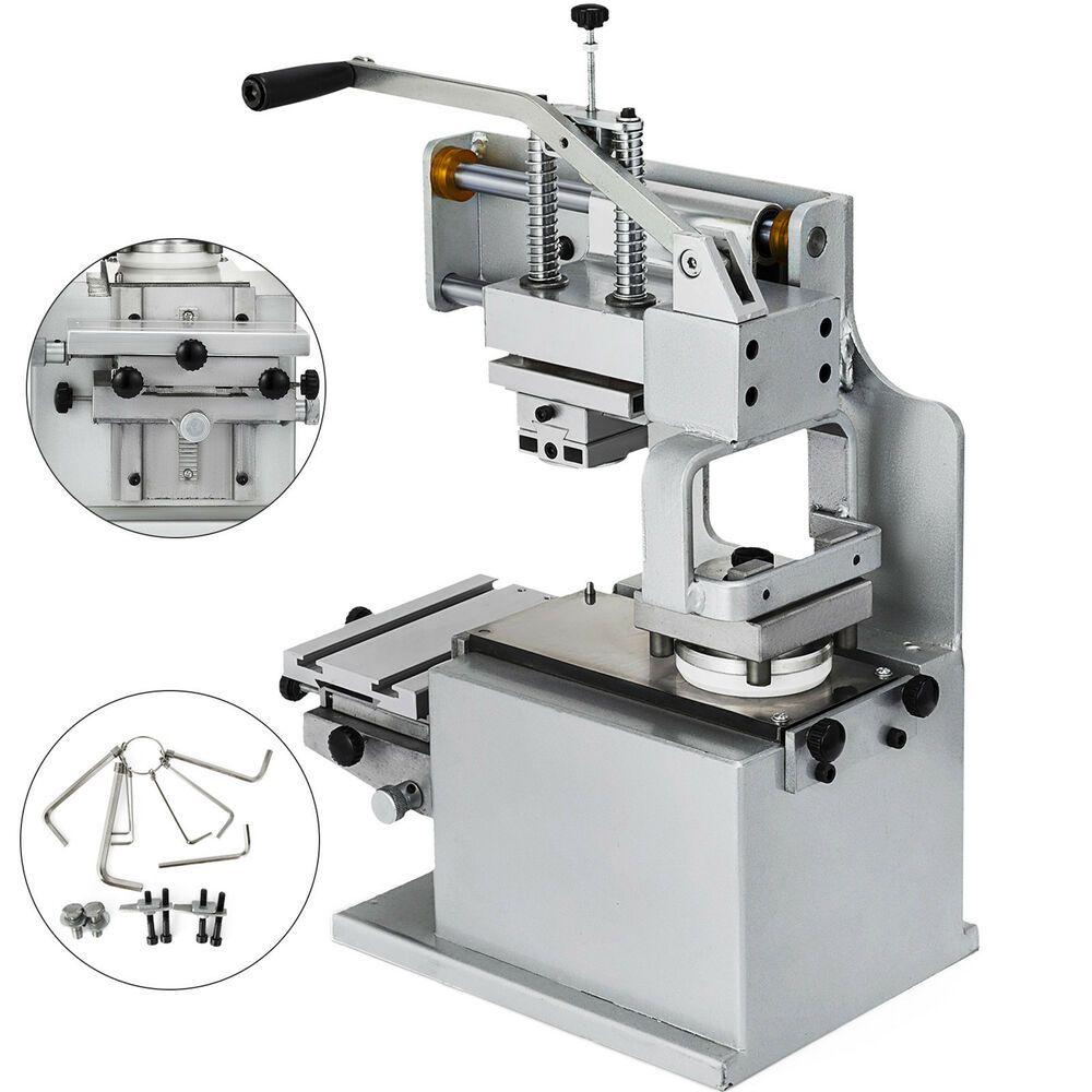 Manual Pad Printer Pad Printing Machine Sealed ink cup