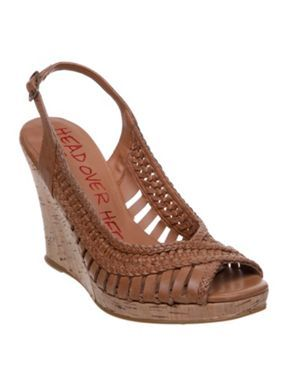 Head Over Heels Gaze slingback wedge sandals Tan - House of Fraser