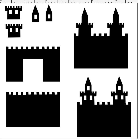 Craft Edge View Topic Castle Castle Crafts Scrapbook Printing Castle