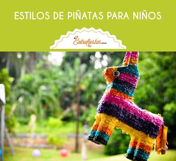 Los cumpleaños se han caracterizado por tener varias actividades emblemáticas. Una de ellas y que resulta muy divertida para los niños es tener una piñata, construye una espectacular para tu hijo con los siguientes estilos que te recomendamos.