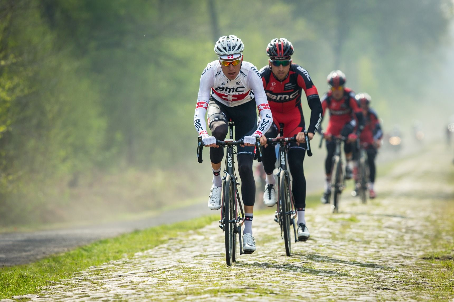 Paris - Roubaix 2014 Recon Ride & OPQ/TFR Press Conferences | Eibhir